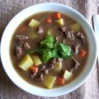 Best Beef Stew -   omit corn, add 6 cups water and 2 cups red wine. Season to taste.