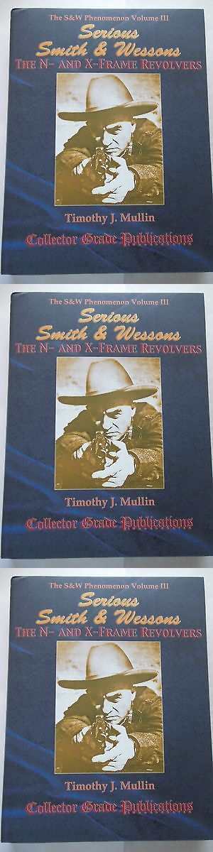 Books and Video 7304: Smith And Wesson N And X Frame Pistol Handgun Hardcovers Gun Book New Revolver 4 -> BUY IT NOW ONLY: $73.95 on eBay!
