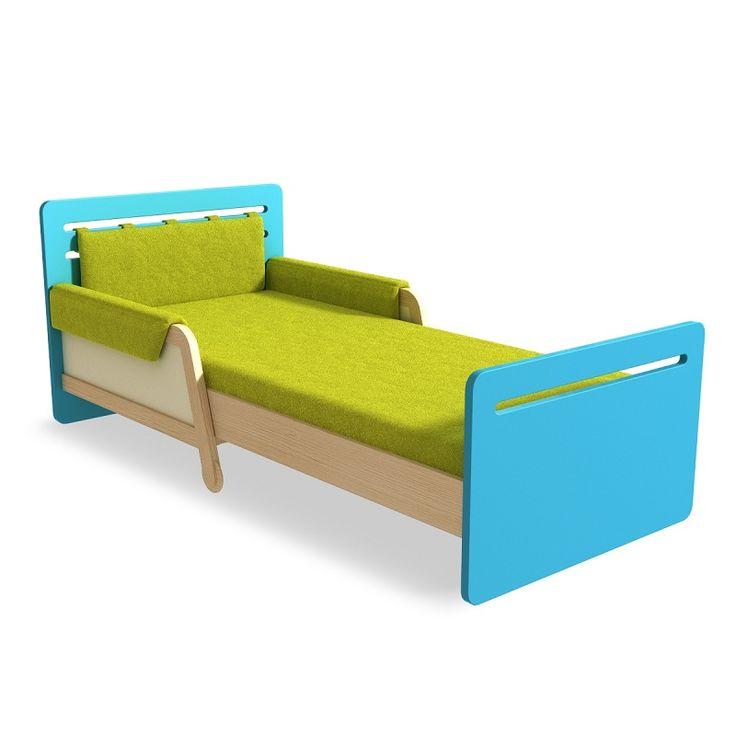 Skvělá postel, která roste společně s Vašim dítětem :-)