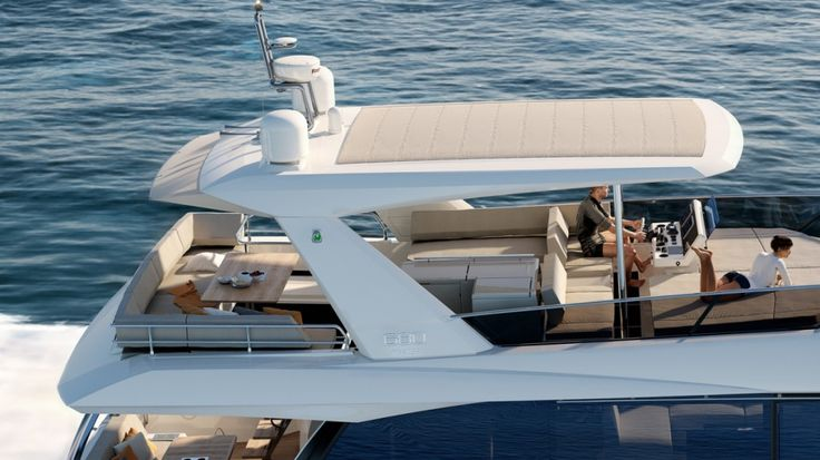 Prestige 680 - Kat Marina - Flybridge