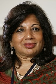 """India's first biotech entrepreneur Kiran Mazumdar-Shaw founded Biocon in 1978 when she was 25 by partnering with an Irish firm to make industrial enzymes. Her goal to make healthcare more accessible for all Indians has driven her to search for a cheaper model of drug development. """"We simply cannot afford to develop drugs that cost 1-3 billion to develop, because these drugs will not actually reach people who really need (them) the most. We've got to change this model. """""""