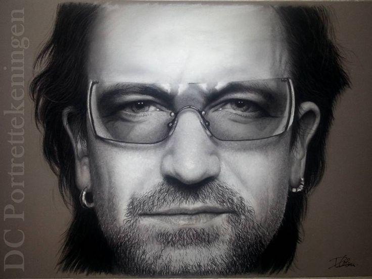 Bono U2 by DCportrettekeningen