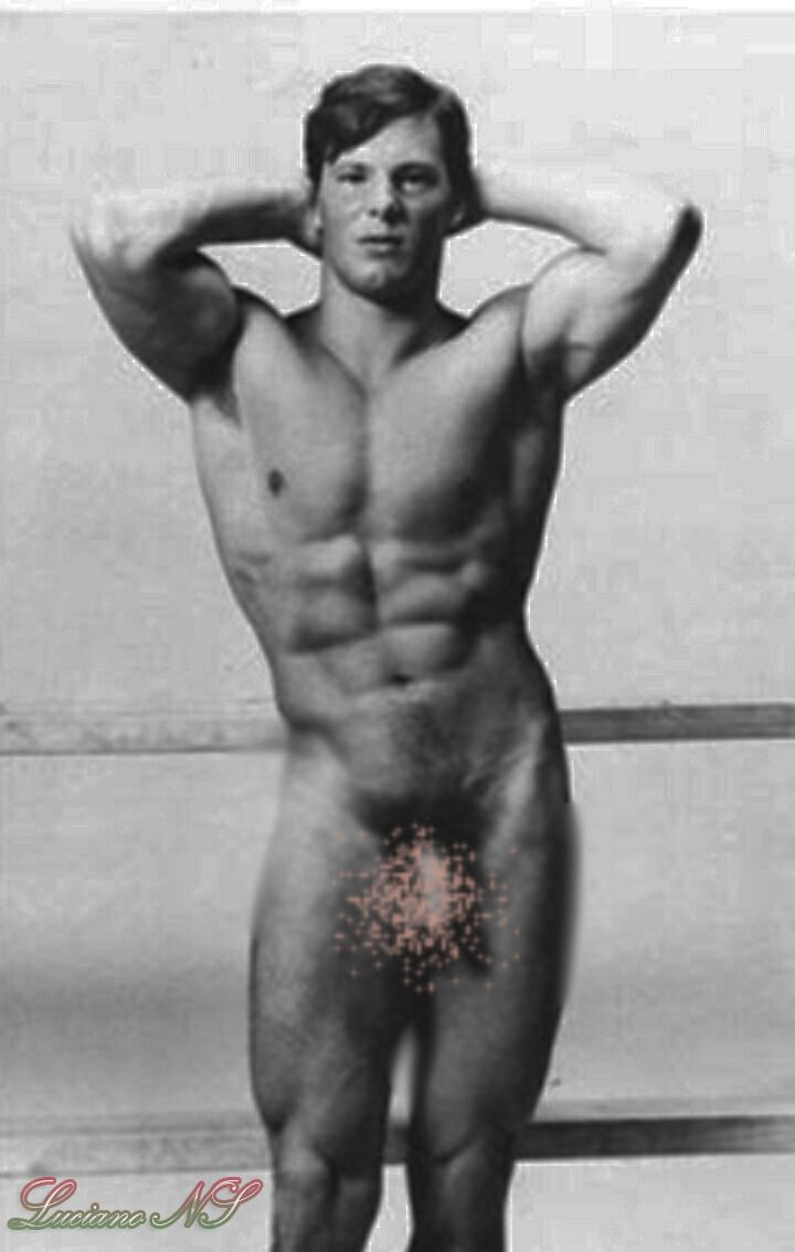 Nude Men Vintage Muscle