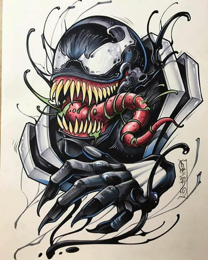 Venom Tattoo Designs: 4173 Best Pencil Images On Pinterest