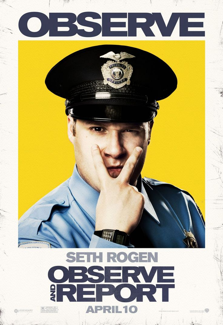Return to the main poster page for Observe and Report (#4 of 5)