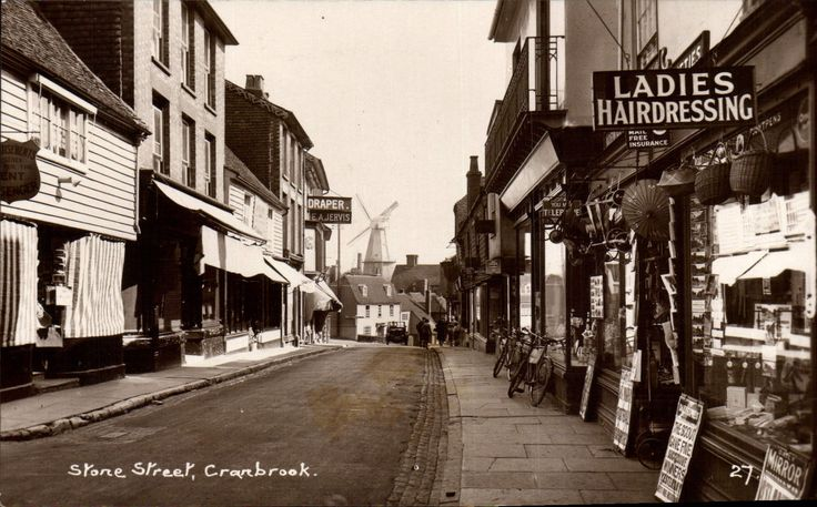 Cranbrook. Stone Street # 27 in Wells Series for H. Waters, Stone St., Cranbrook | eBay