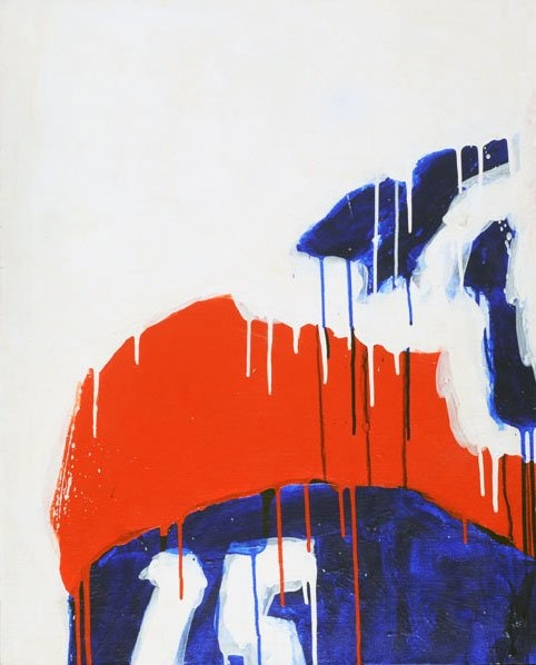 LEMOYNE, Serge (1941-1998) Blue, White, Red, no 15 : Lot 57