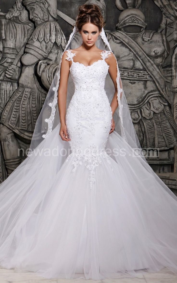 A Fishtail Wedding Dress : Best fishtail wedding dresses ideas on