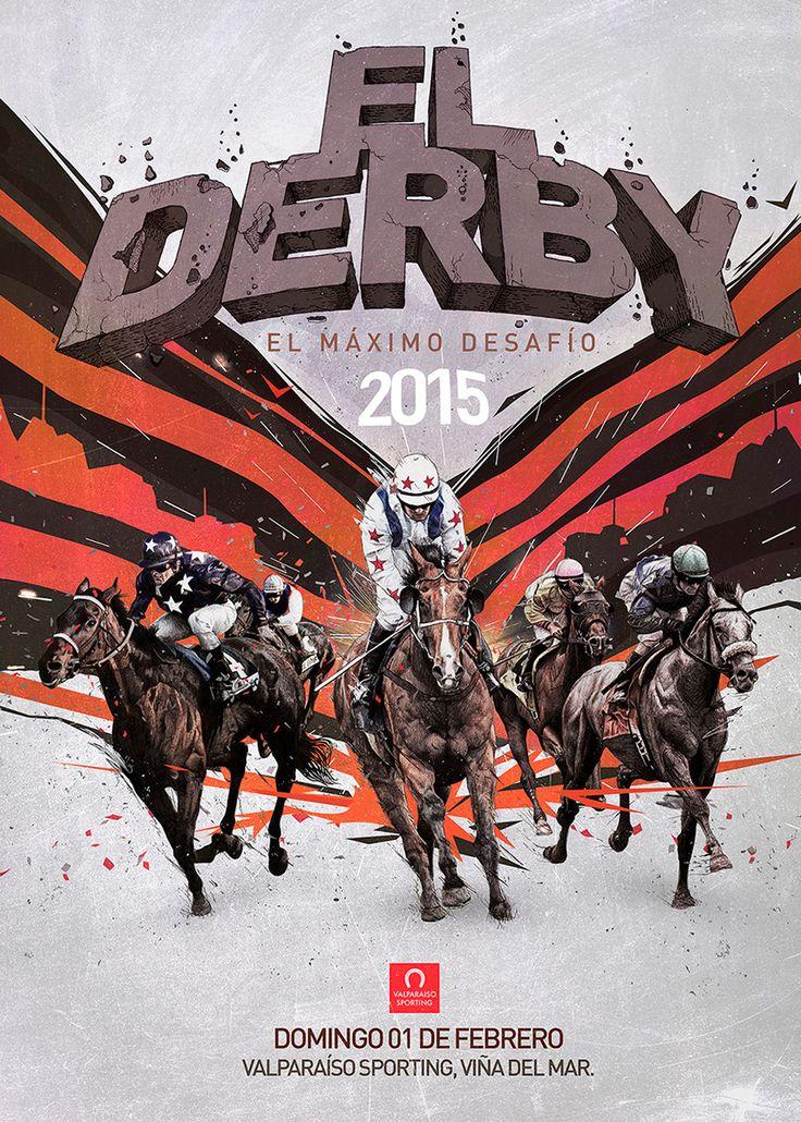 Derby, Poster by Adolfo Correa.