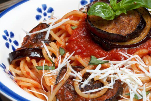 Pasta alla Norma #food #pasta #foodporn #italy #lovetaly #sicilia #cucina #foodblogger #melanzana #foodie