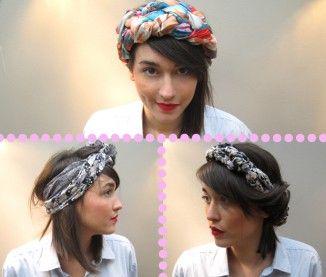 foulard cheveux conseils