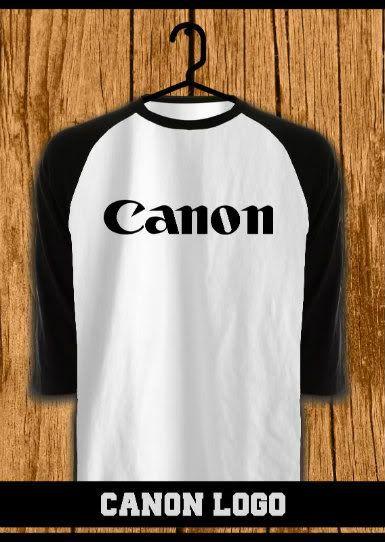 ourkios - Canon Logo Black Raglan