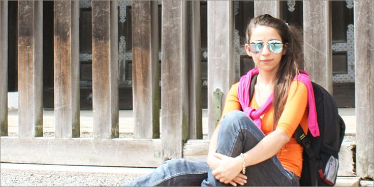 Jewellery Designer Pallavi Foley  #HerStory #jewellerydesigner On an inspirational trip  www.pallavifoley.com