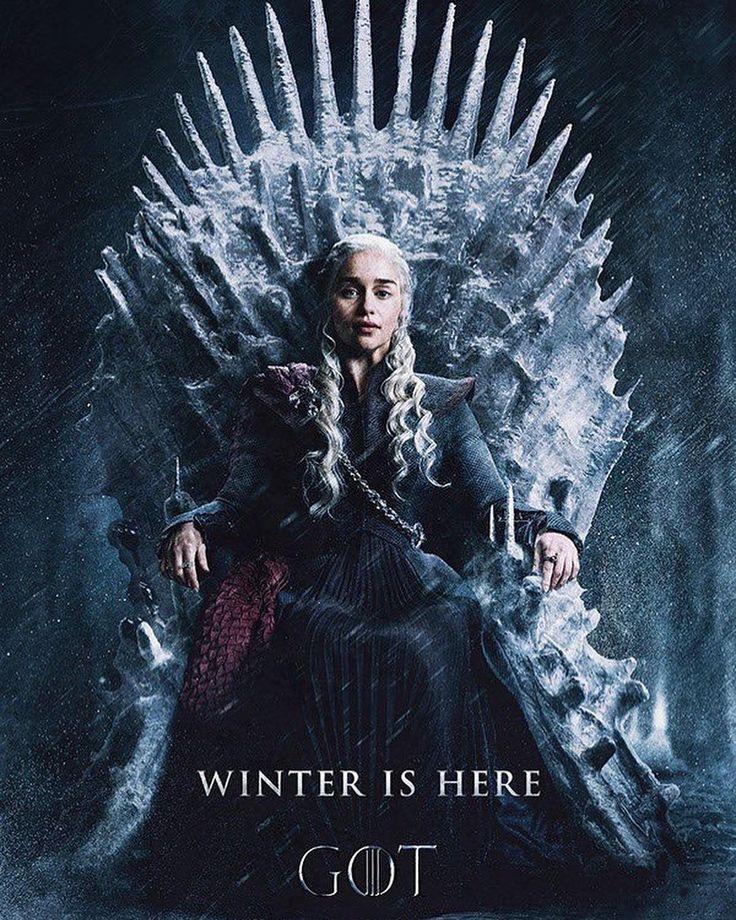 Game of Thrones #daenerystargaryen #GameofThrones #fanart #winterishere #throne #queen