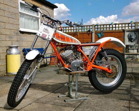 Yamaha TY Majesty Whitehawk 200cc Twinshock Trials bike
