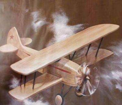 Pottery Barn Kids Plane Airplane Mural Giant Wall Decal Decor 6u0027x6u0027 Sticker  |