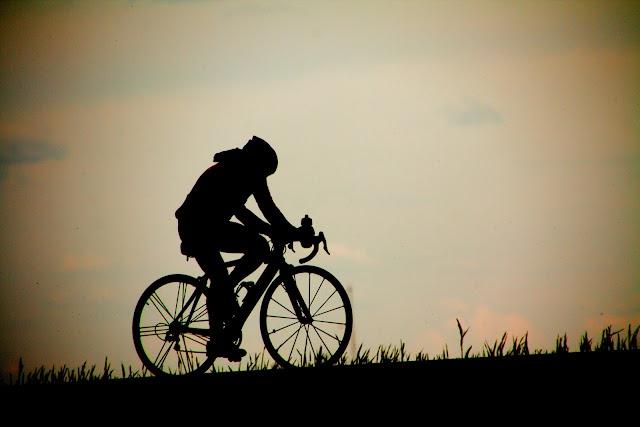 A lonely Biker | Jill's Photo Adventures