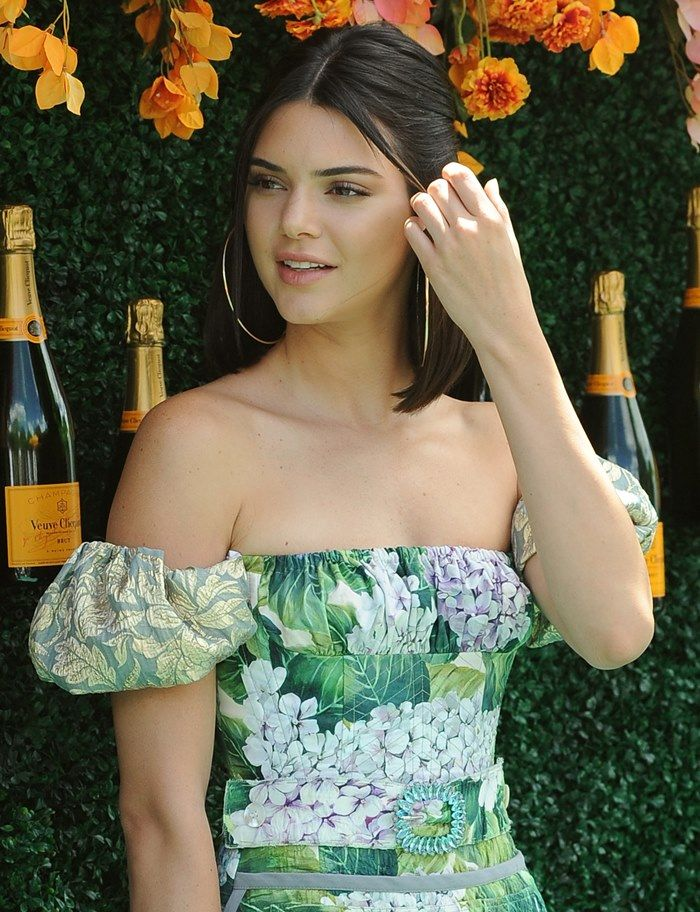 How to Get Kendall Jenner's Hair From the Veuve Clicquot Polo Classic | kendall jenner | hair | short hair | sleek | jen atkin hair | hair inspo | celebrity hair inspo | summer hair