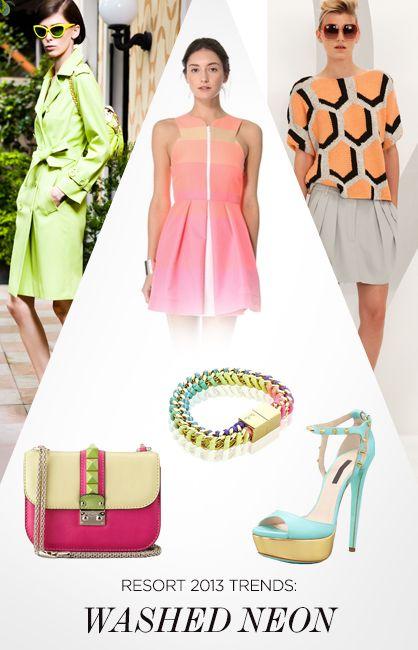 Resort 2013 Trends: Washed Neon