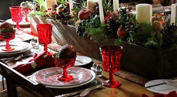 163 best images about decoraci n navidad on pinterest - Adornos navidenos para mesas ...
