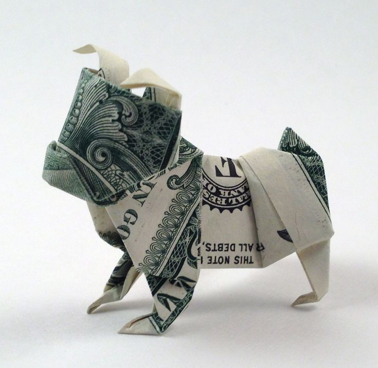 Adorable Dollar Origami
