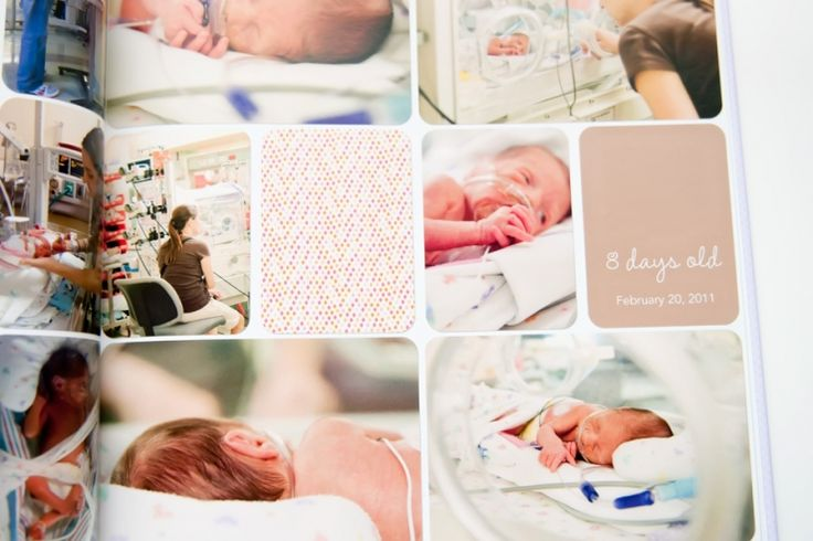 Beautiful digital project life baby book // tracy larsen