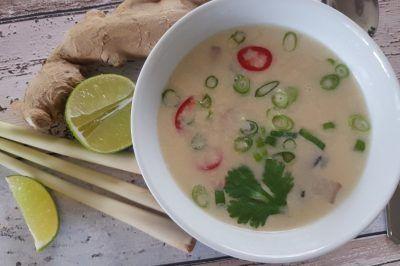 Tom kha kai; Thaise kippensoep met kokos