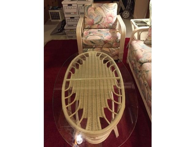 FOR SALE: NEW 7 PIECE WICKER SUNROOM SET IN NEW CONDITION - Home Furniture - Garden Supplies - Westminster - Maryland - announcement-78912