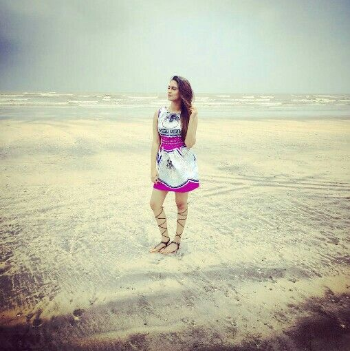 She shells Sea Shells on The Shore