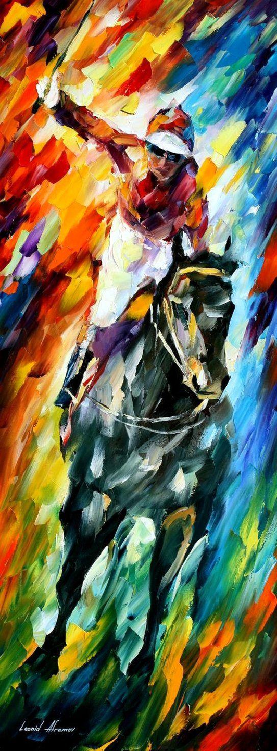 Dark Horse Leonid Afremov By Leonidafremov Art Of