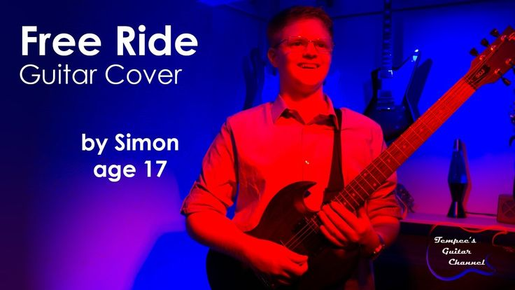 Check out my student Simon playing Free Ride by The Edgar Winter Group!