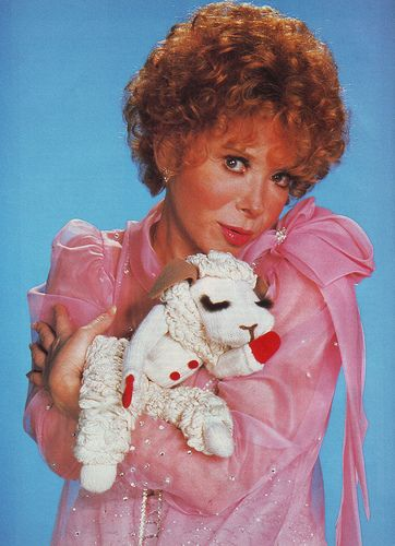 "Shari Lewis and Lamb Chop. ""This is the song that never ends. It just goes on and on my friends..."" You're welcome. >:D"