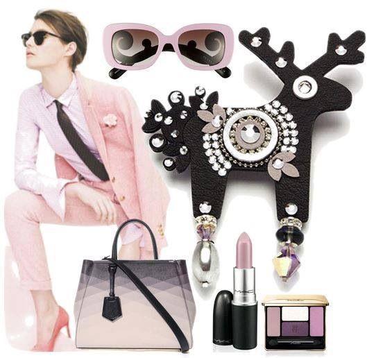 Vysoká elegance v podobě růžové a černé. Fousdelane ví, jak zaujmout.