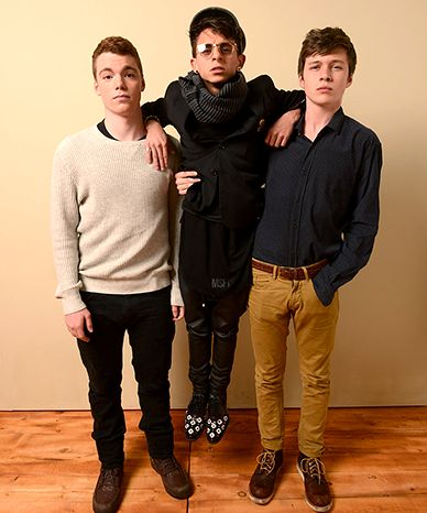 Nick Robinson, Gabriel Basso, Moisés Arias (The Kings of Summer)