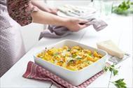 Gezonde macaroni met kaas