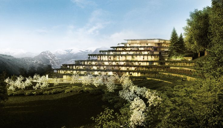 Matteo Thun & Partners : Architecture : Swiss Wellness Resort