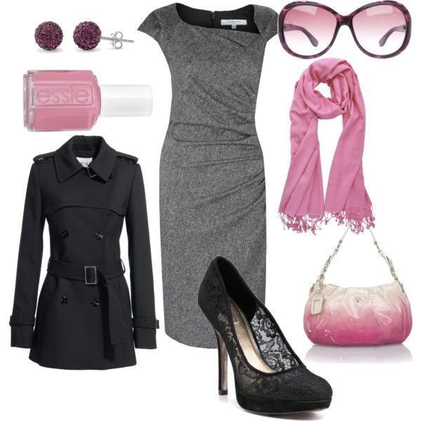 Pink and gray......gorgeous