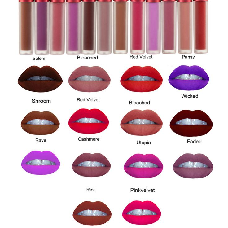 New 12 Colors Waterproof Matte Makeup Liquid Lipstick Long Lasting Lip Gloss Sexy Cosmetic Lip Stain Maquiagem