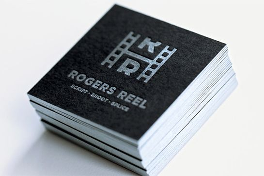 30 Ultra-Creative Business Cards For A Killer First Impression #refinery29 http://www.refinery29.com/cool-los-angeles-business-cards#slide-27 We could tell you that Rogers Reel produces films from start to finish, but you could probably figure that out just by glancing at these Mattson Creative-designed squares. Shouldn't that be the goal of a business card in the first place?