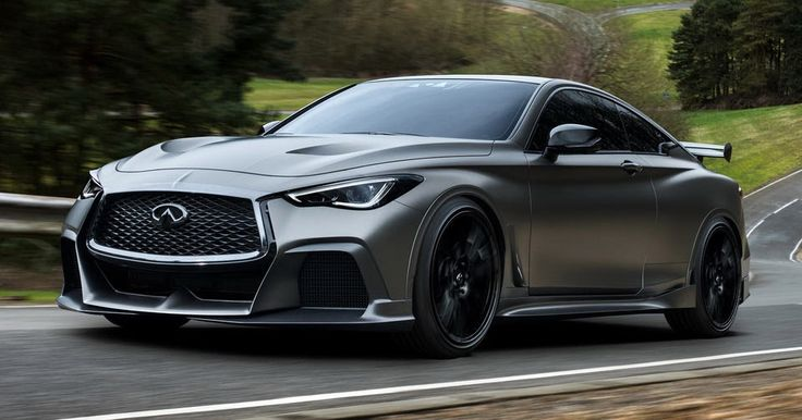 Infiniti & Renault F1 Reinvent Q60 Coupe As Project Black S #Concepts #F1