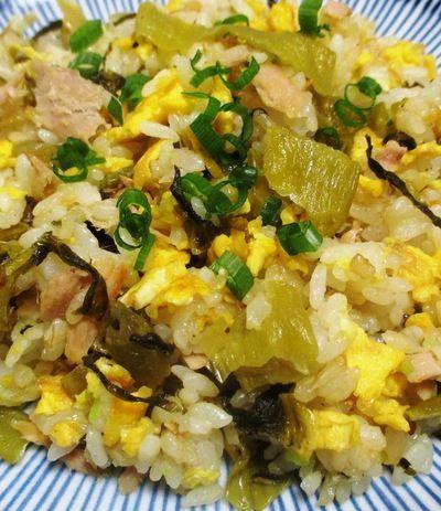ツナ高菜チャーハン<風味豊かな炒飯> by syu♪さん | レシピブログ ...