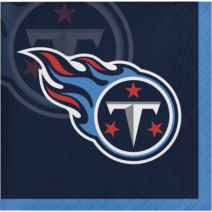 Creative Tennessee Titans Beverage Napkins, Case of 192