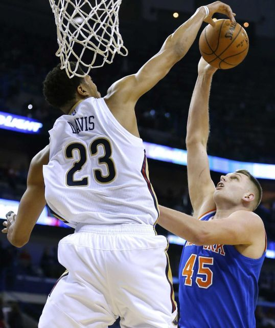 New York Knicks vs. New Orleans Pelicans NBA pictures - Newsday