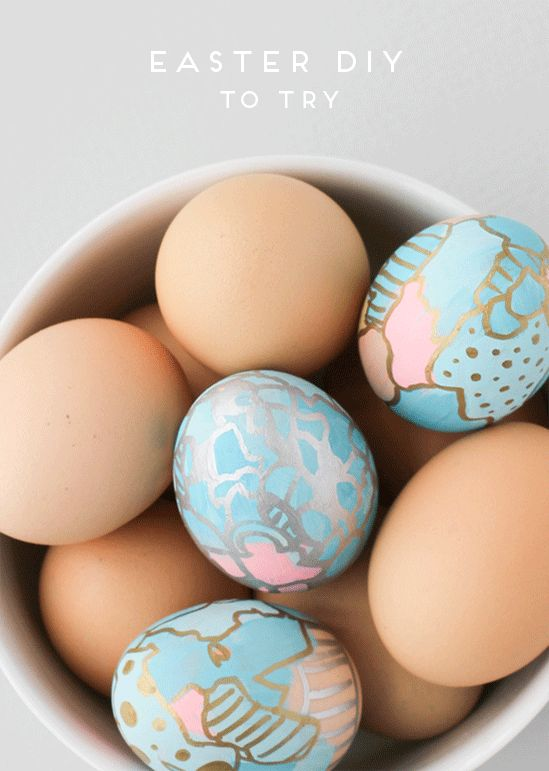 Make This: Graffiti Art Easter Eggs DIY - Paper and Stitch