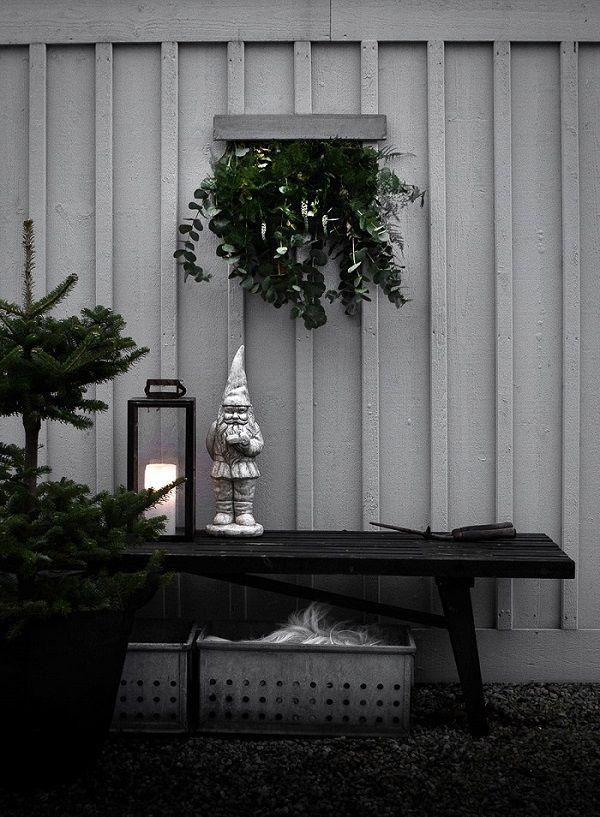 Oggi sul blog: un po' di ispirazione per chi ama le decorazioni natalizie in stile nordico.