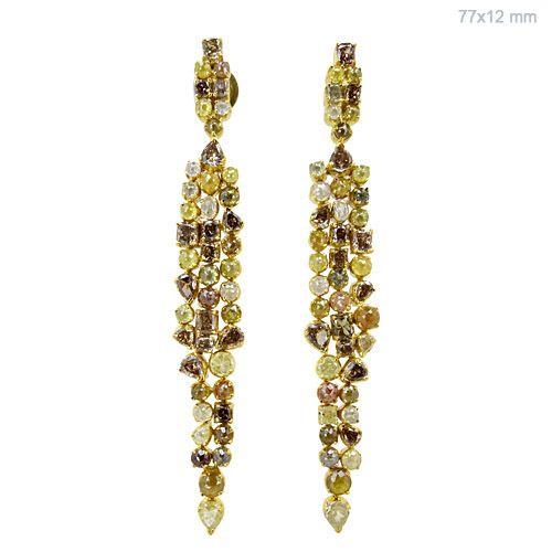 Multi Colored Diamond Earrings #designerjewelry #jewelleryaddict #jaxemrata #jewelryaddict #jewelrymaking #jewelry #italianjewellery #ijl #londonjewellery #dubaijewellery #jckshow #bestselling #hotselling #hot #coolstuff #diamondstuds #solitaire #taylorswift #danbilzerian #selenagomez #kimkardashian #beyonce #beach #bikini #couturecollection #coutureshow #jcklasvegas #miamibeach @instagram #interior #interiordesign