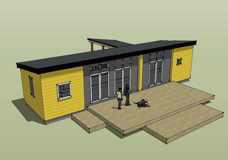 An architectural firm in Oregon has collaborated with furniture giant IKEA to come up with a flat-pack home costing $86,500.