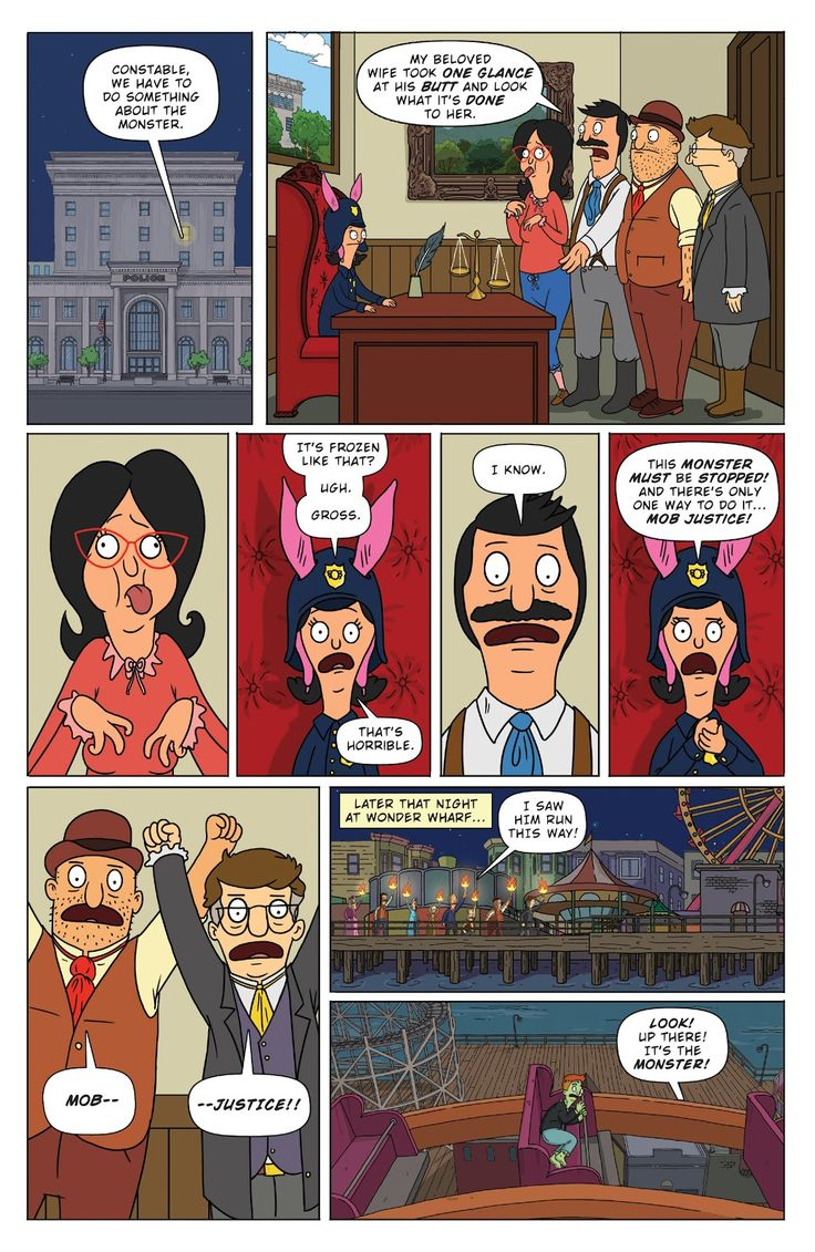 Bob's Burgers (2014) Issue #4 - Read Bob's Burgers (2014) Issue #4 comic online in high quality