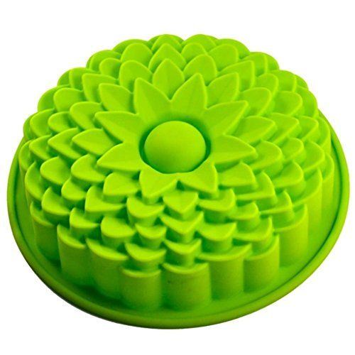 La Tartelette Silicone Mold Sunflower Bread Pie  Tart Mold Birthday Party Cake Silicone Mold Ceramic Mold Pan Bakeware ** Click image to review more details.(This is an Amazon affiliate link)