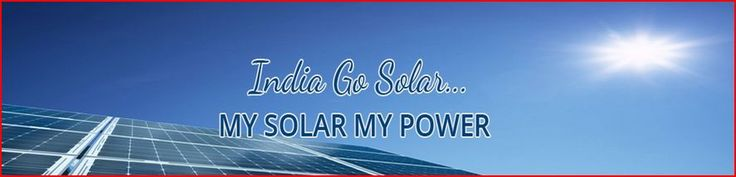 India Go Solar is completely consumer friendly service provider which gives ranges of customized solar products solutions. http://www.lacartes.com/business/India-Go-Solar/239782